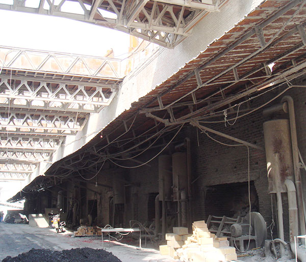 轻烧窑生产区(南区)