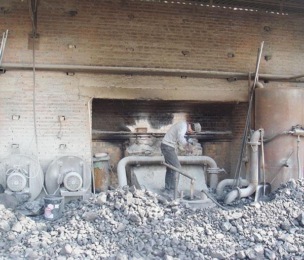 轻烧窑填煤(北区)