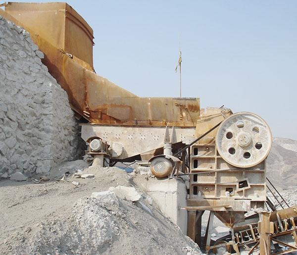 菱镁石原料破碎(南区)